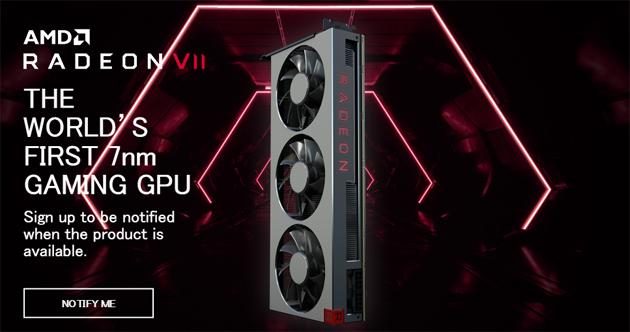 AMD Radeon VII 各種ベンチマーク公開 RTX2080との比較