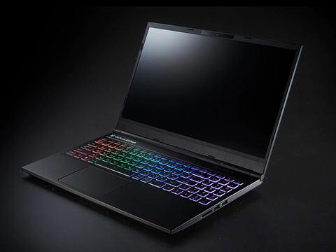 ドスパラ、GeForce GTX 1650搭載 10万円を切る15.6型ノート ゲーミングPC