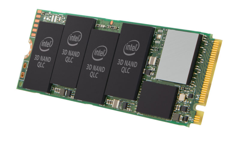 Intel Naptune Habor Refresh SSD 665p ローンチ