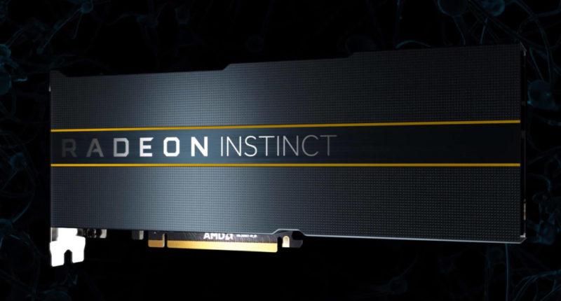 AMD Radeon 初期プロトタイプInstinct MI100 Arcturus GPU搭載 32 GB HBM2メモリ 200 W TDP