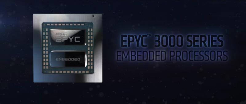 AMD EPYC Embedded 3000 CPUを更新