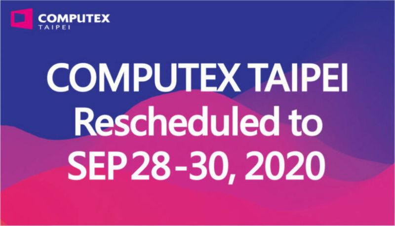 Computex 2020は9月28〜30日に予定変更
