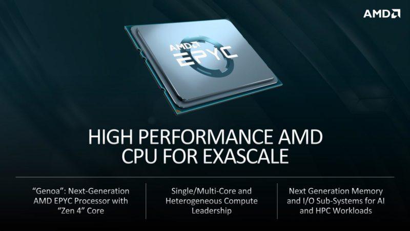 AMDの次世代Zen 4ベースのEPYC GenoaとRadeon Instinctが、最大2Exaflopsの馬力で El Capitanのスーパーコンピューターに搭載