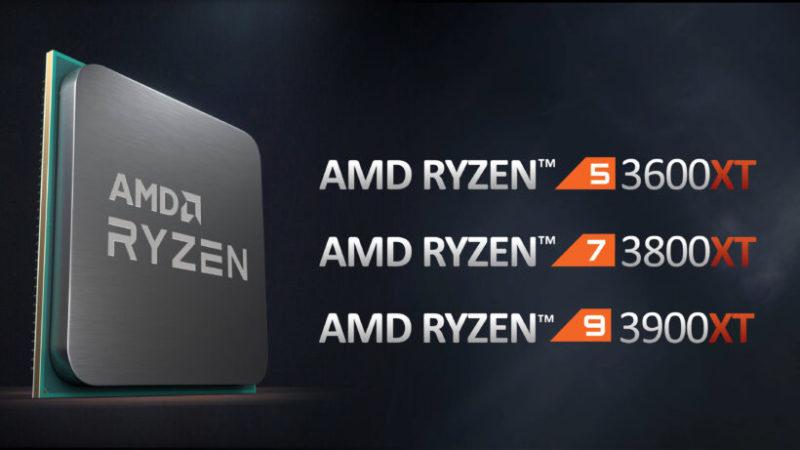 AMD Ryzen 7 3800XTとRyzen 9 3900XTにはクーラーが同梱されない