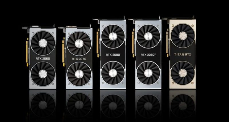 NVIDIA GeForce RTX 3090、RTX 3080、およびTitan RTXグラフィックスカードとアンペアゲームGPUの仕様