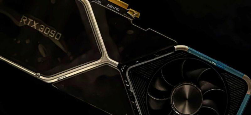NVIDIA GeForce RTX 3080大規模ヒートシンクがリーク、4つの大型ヒートパイプを備え全てアルミニウムフィンデザイン