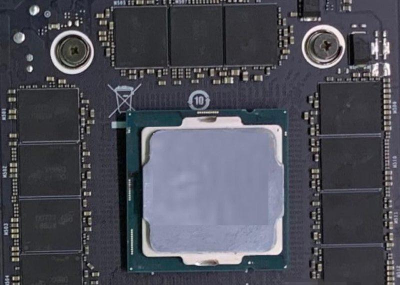 NVIDIA GeForce RTX 3090&RTX 3080 Ampere GA102 GPUとされる写真