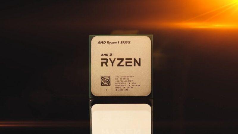 AMD Ryzen 9 5950X 16コア 次世代フラッグシップCPUのベンチマークで、Intel i9-10980XE18コアHEDTを粉砕