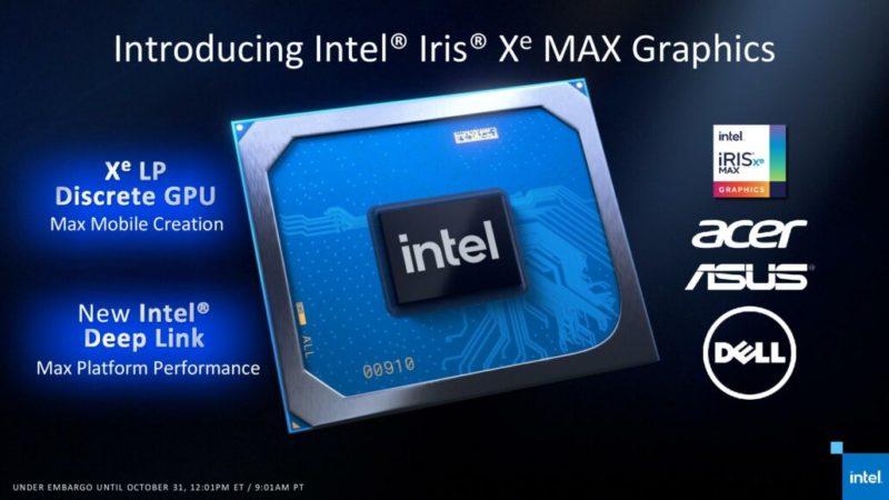 Intel Iris Xe MAX GPU Time Spyベンチマークは、NVIDIA MX450と同等かそれ以上