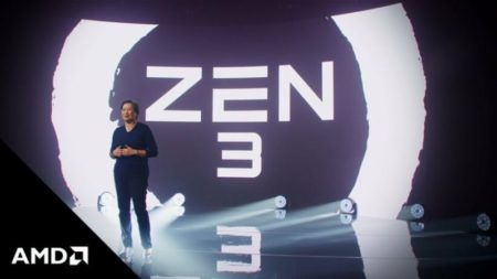 AMD Zen3ベースのRyzen5000 CPUは、元のZenアーキテクチャに比べて81%の大幅なパフォーマンス向上を達成しました