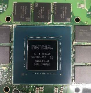 NVIDIA モビリティRTX3070のVRAYベンチマークがリークしRTX2080SUPERの2倍のパフォーマンス