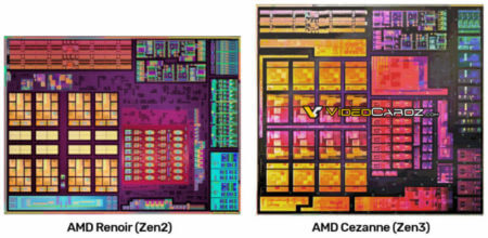 AMD Ryzen 5000 Cezanne Zen 3 CPUダイブロック図がリーク!Ryzen 4000 Zen 2 Renoir CPUよりも優れる!!
