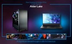 Intelの第12世代AlderLake-P モビリティCPU14コア/20スレッド初期サンプルで最大4.70GHz