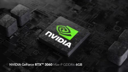 3DMark TimeSpyでテストされたNVIDIAのGeForceRTX3000モバイルGPU
