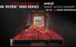 AMDがスマートアクセスメモリ(Resizable Bar) をRyzen 3000デスクトップCPUにもたらし、AAAゲームで最大16%のパフォーマンス向上