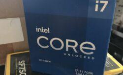ドイツの小売業者が販売する120台のIntel第11世代RocketLake Core i7-11700Kプロセッサー11は消費者によって発売前のベンチマークを提供