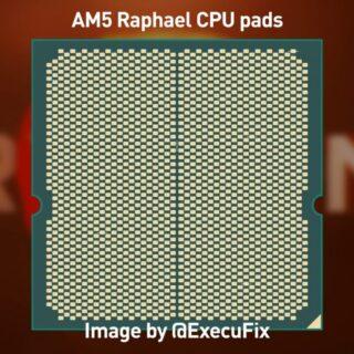 AMD Zen 4 Raphael RyzenデスクトップCPUのモックアップ写真、AM5 LGA1718ソケットは最大170WTDP用に設計