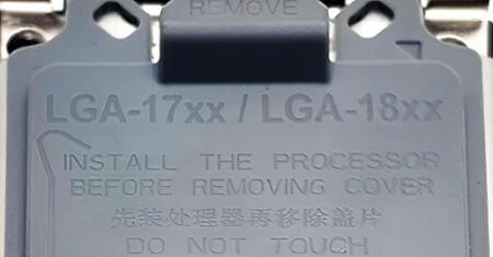 Intelの今後の7nm CPU用か?! LGA-17XX / 18XX互換のソケットカバーがオンラインに