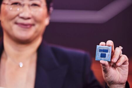 AMD Ryzen 9 5950Xサンプルで確認、開発中のAMD 3D V-Cacheテクノロジー