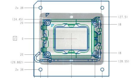 Intel LGA1700およびLGA1800ソケットの設計がリーク!!AlderLakeや次世代CPU向け設計