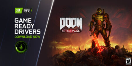DOOM Eternalが、NVIDIA GeForce Game Ready 471.11WHQLドライバでRTXレイトレーシングとDLSS対応へ