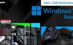 ASRockがWindows11互換マザーボードを発表