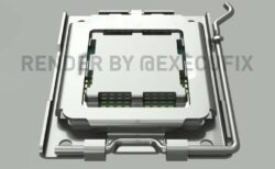 最新のレンダリングで示されている次世代RyzenデスクトップCPU用のAMDAM5 CPUソケットは、LGA1718ピン設計