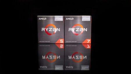 AMD Ryzen 75700GとRyzen5 5600G DIYデスクトップAPUが小売サイトに