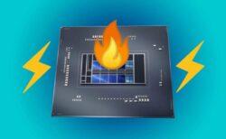 Intel Alder Lake-SデスクトップCPUは、250Wの電力を消費し最大93Cの非常に高温で動作