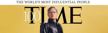 Jensen Huangは、Time magazineで、2021年に最も影響力のある人物の1人に選ばれました。