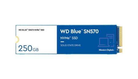 Western Digitalが、USD$54から始まる新しい費用効果の高いWD Blue SN570 NVMeSSDを発売